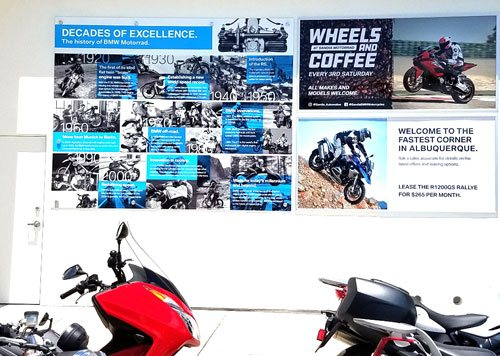Wall Graphics – BMW Bikes