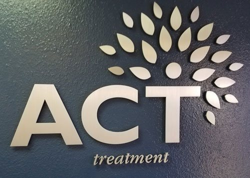 Dimensional Lettering – ACT Treatment